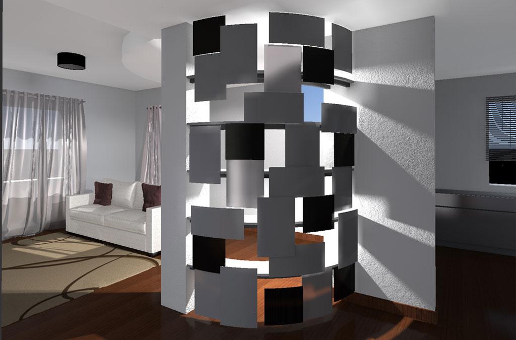 Top Interior Design - Parete divisoria | Paola Cassioli | Architetto AP88